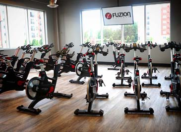 cycling equipment for group spinning class