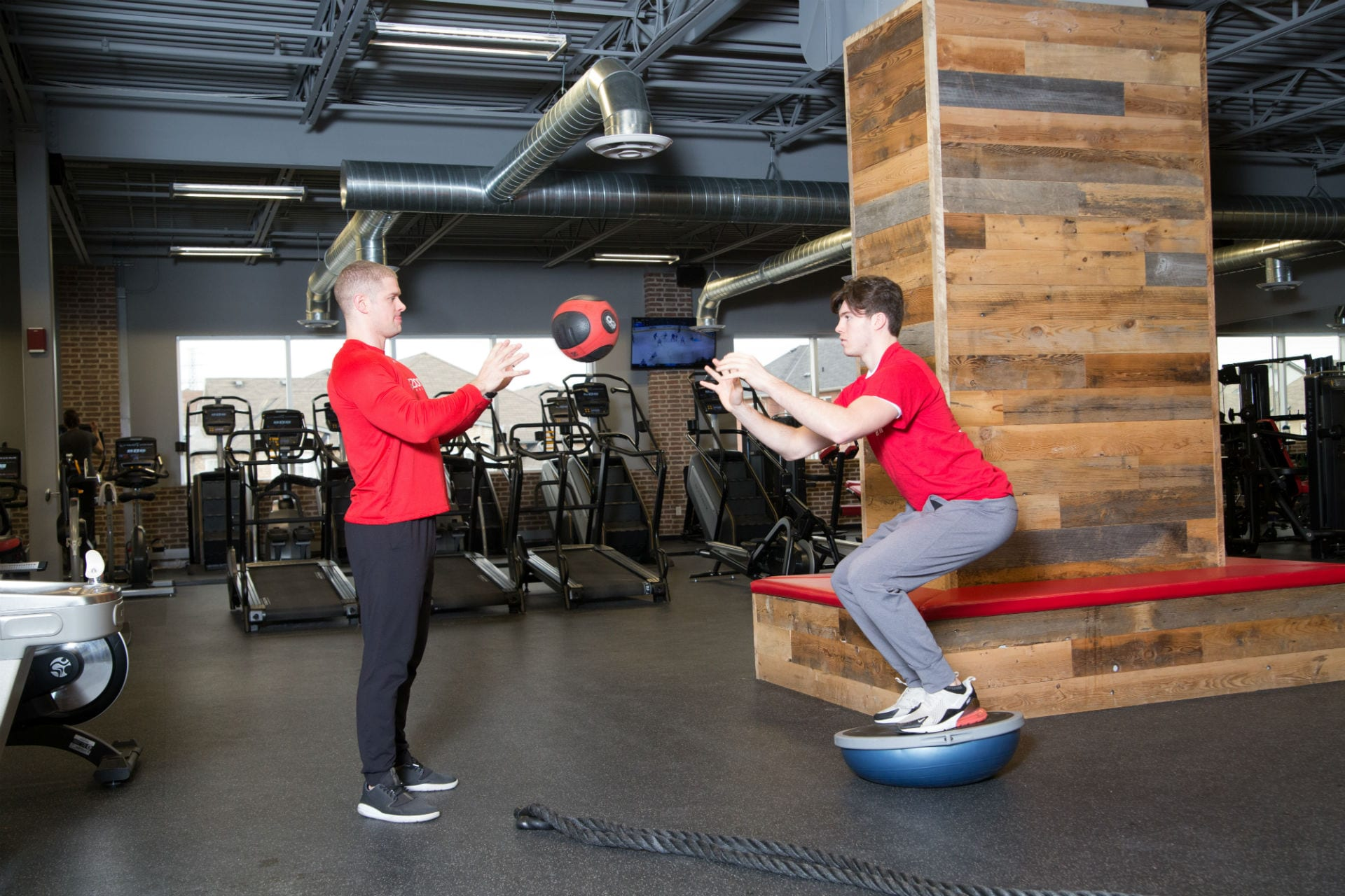 gym fitness equipment and personal training