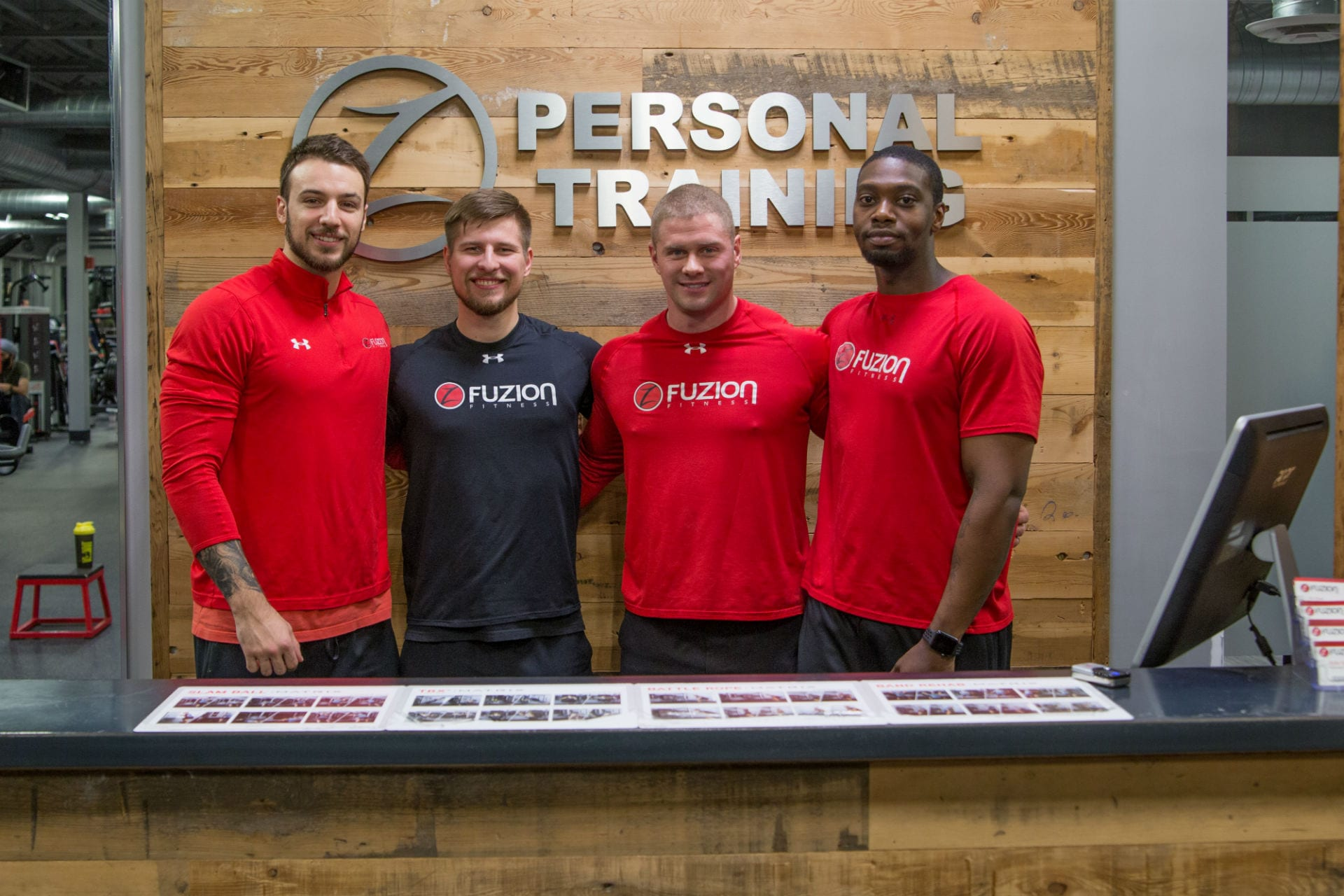 personal trainers at fuzion fitness gym