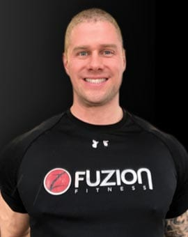 jump start trainer eric at fuzion fitness brampton on gym