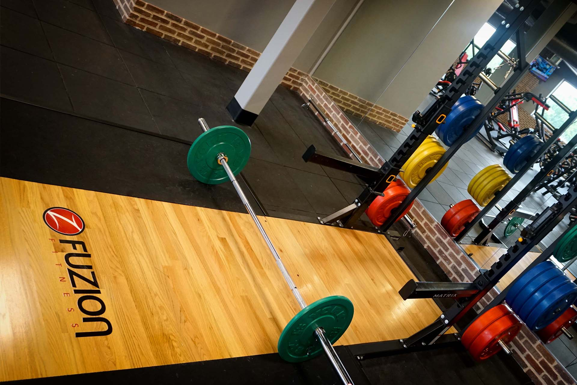 weight-training-equipment-at-fitness-center-for-strength-training